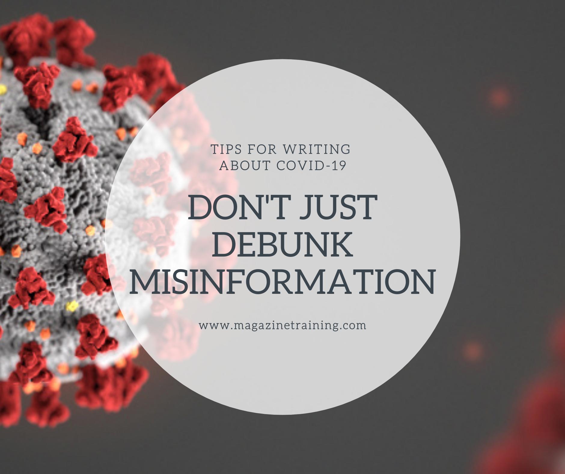 debunk misinformation