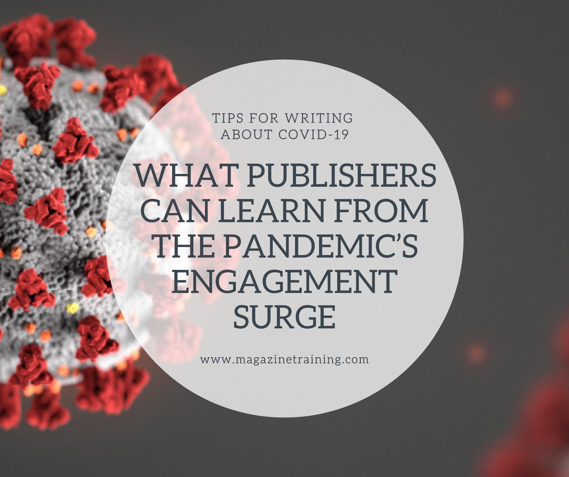 pandemic's engagement surge
