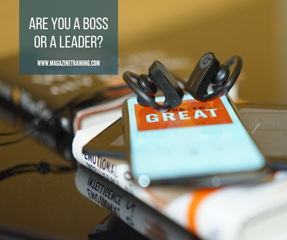 boss or a leader