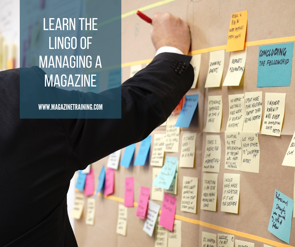 managing a magazine