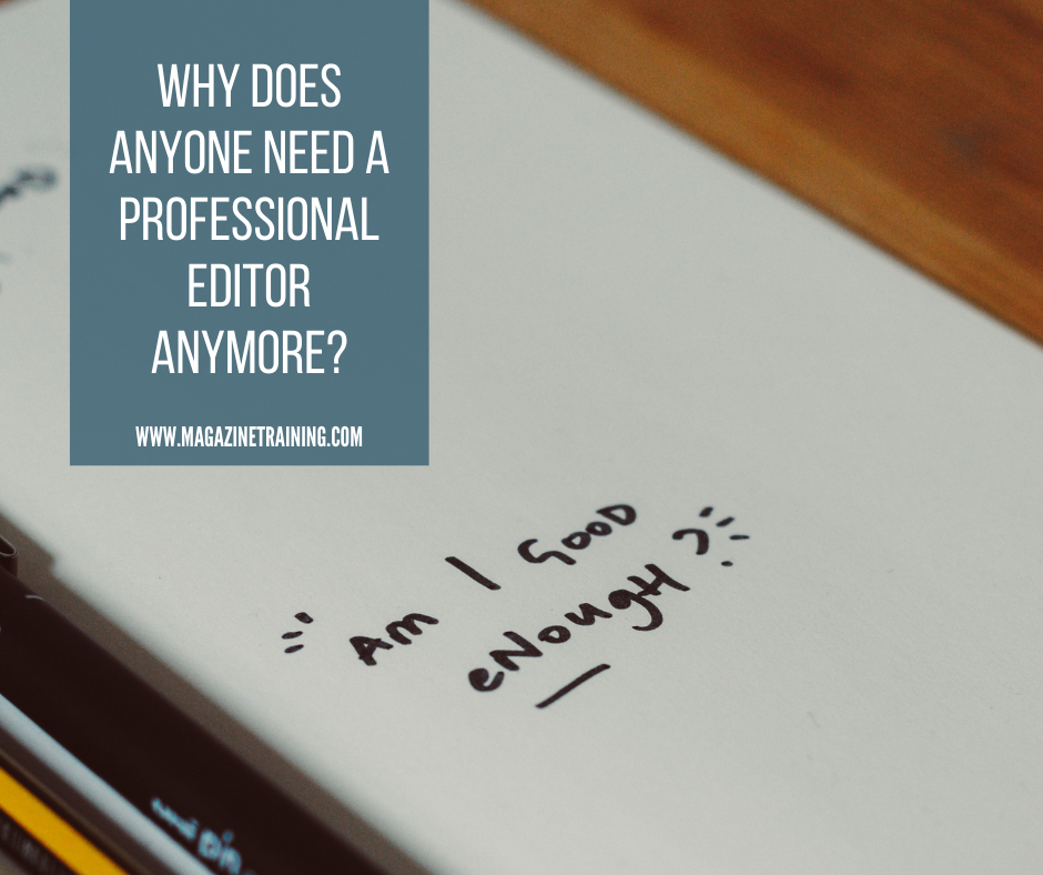 professional editor