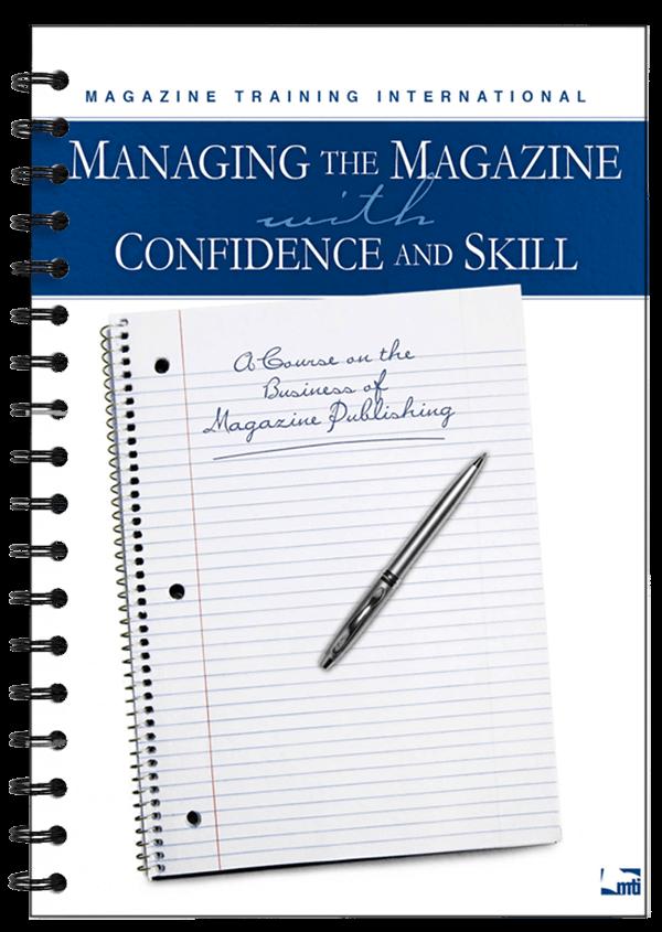 managing the magazine