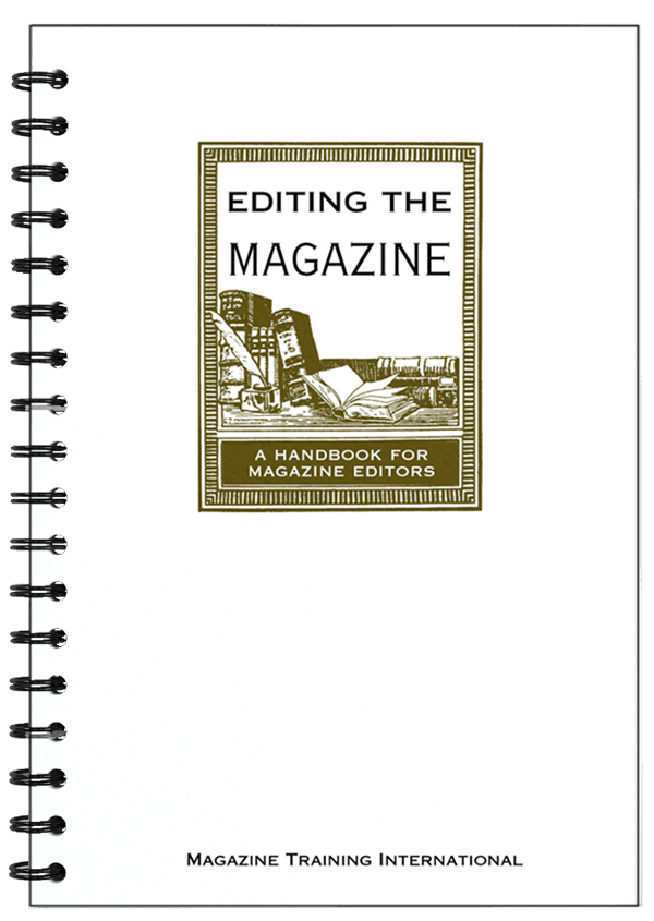 editing the magazine