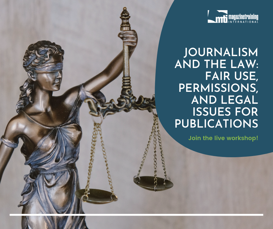 journalism and the law