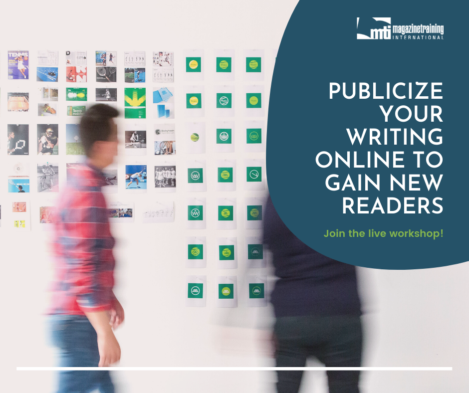publicize your writing online