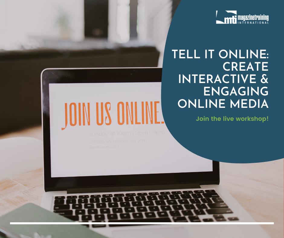 engaging online media