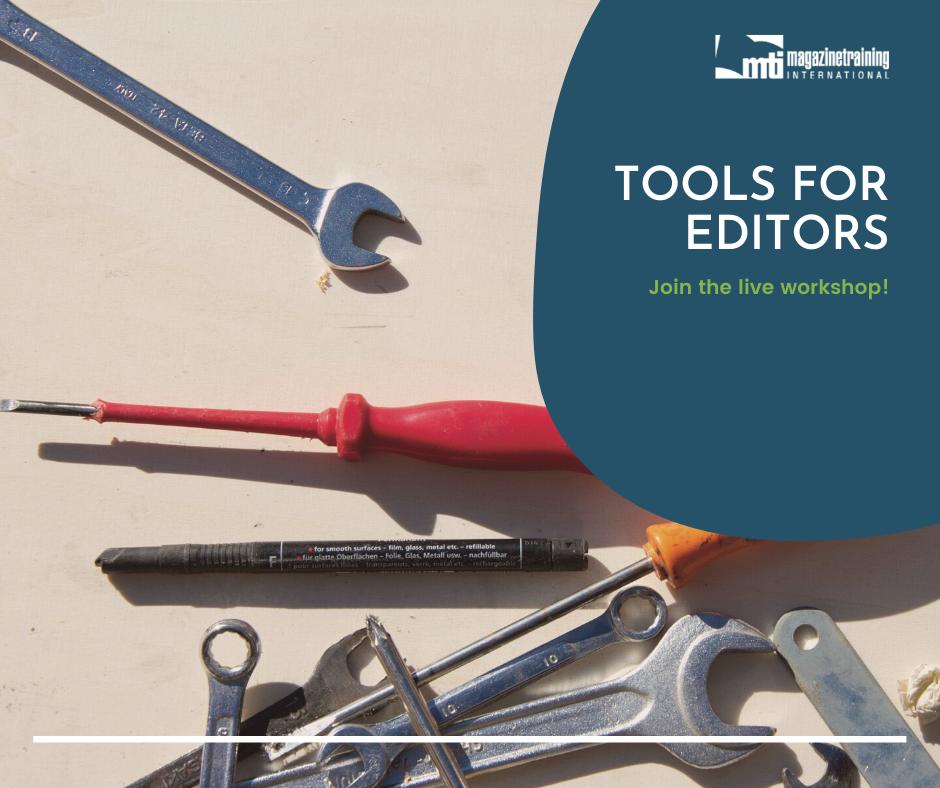 tools for editors