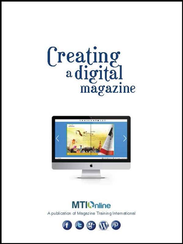 Creating a digital magazine