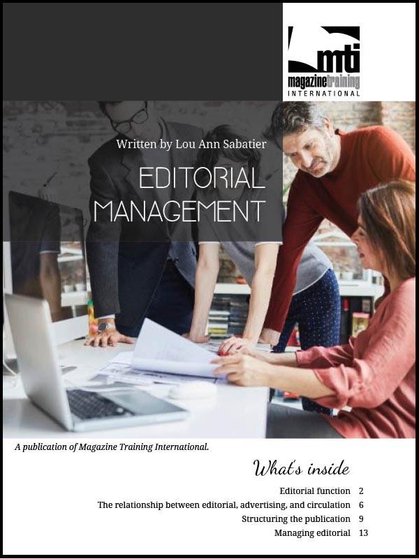 editorial management