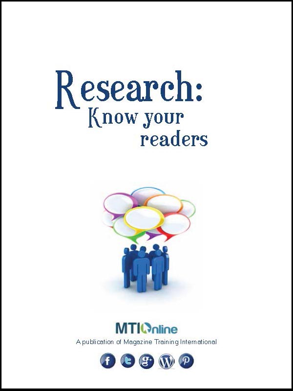 know your readers