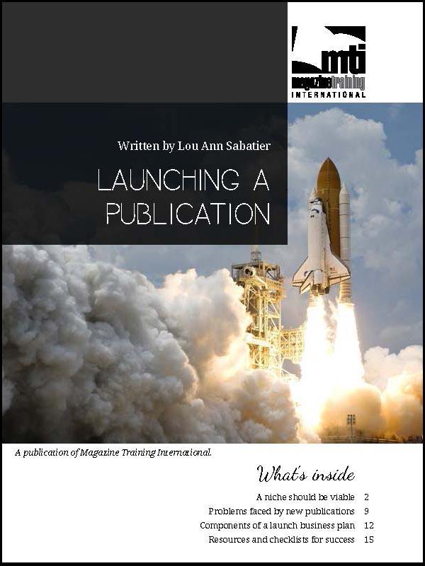 launching a publication