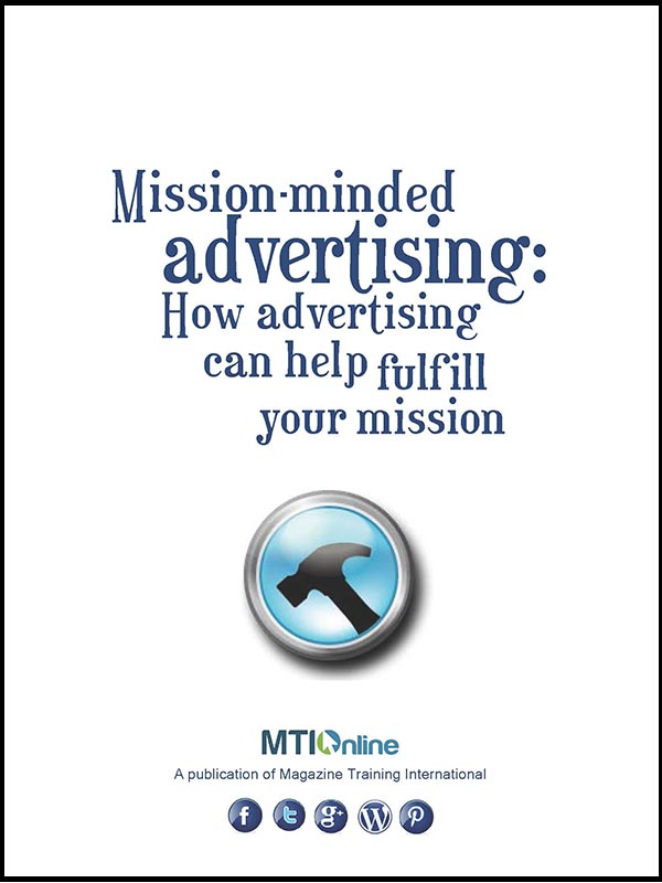 mission-minded advertising