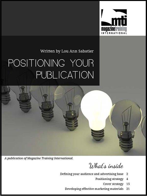 positioning your publication