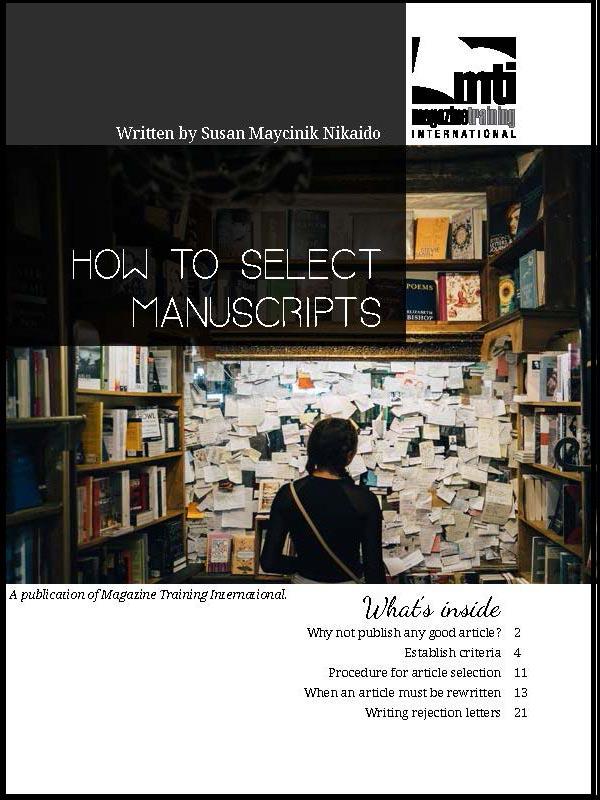 select manuscripts