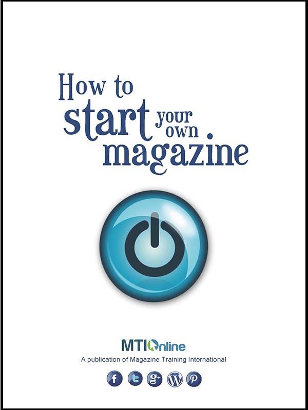 start your own magazine