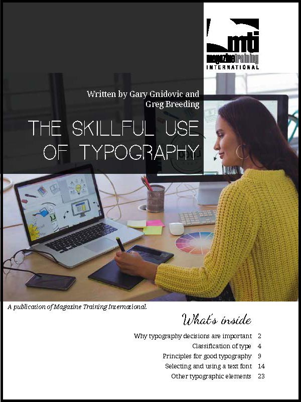 use of typography