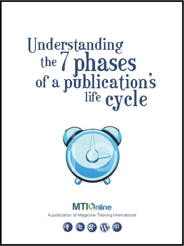publication's life cycle
