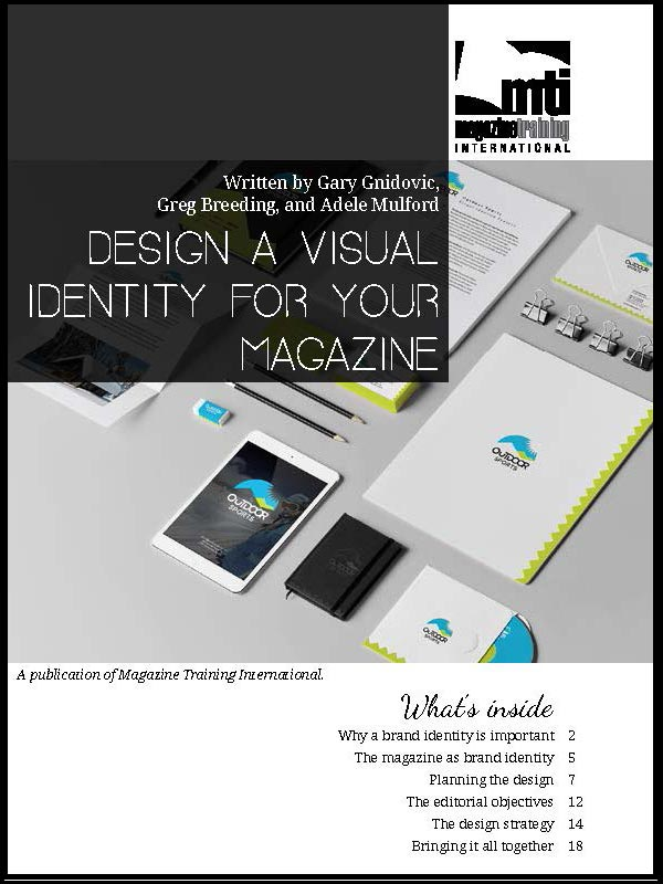 design a visual identity