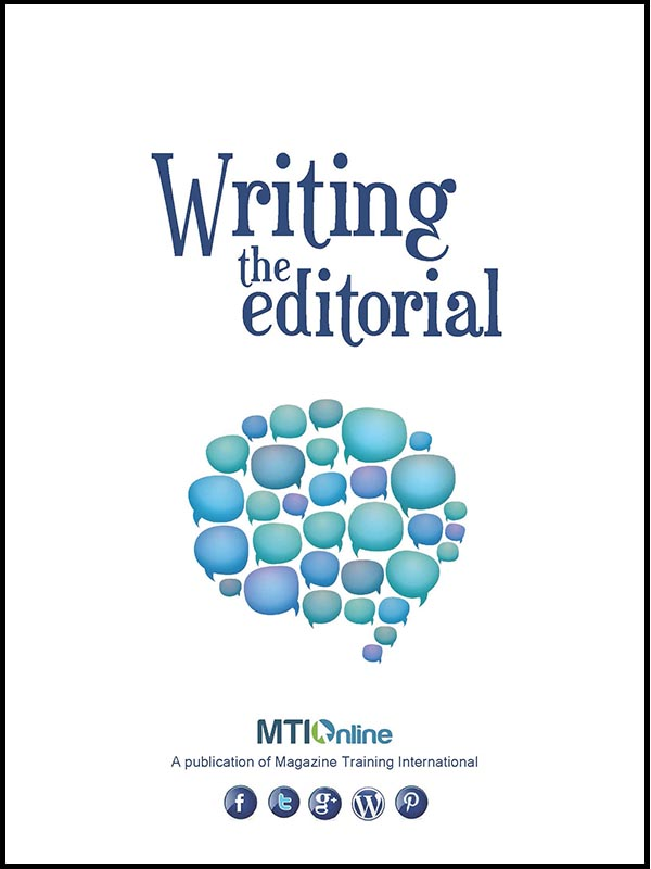 writing the editorial