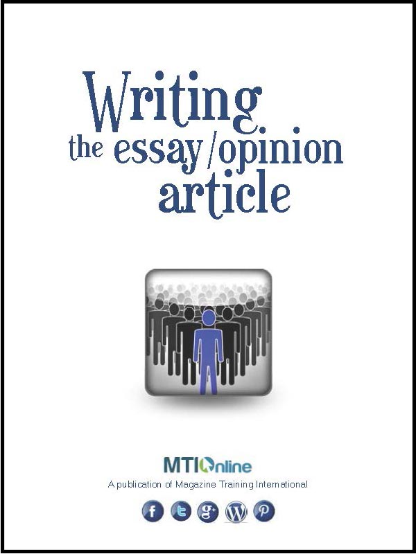 essay/opinion article