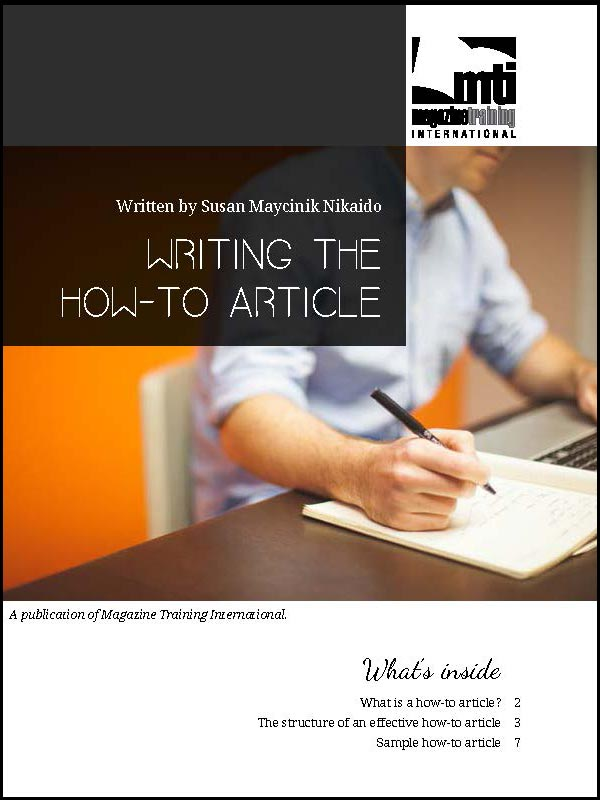 how-to article