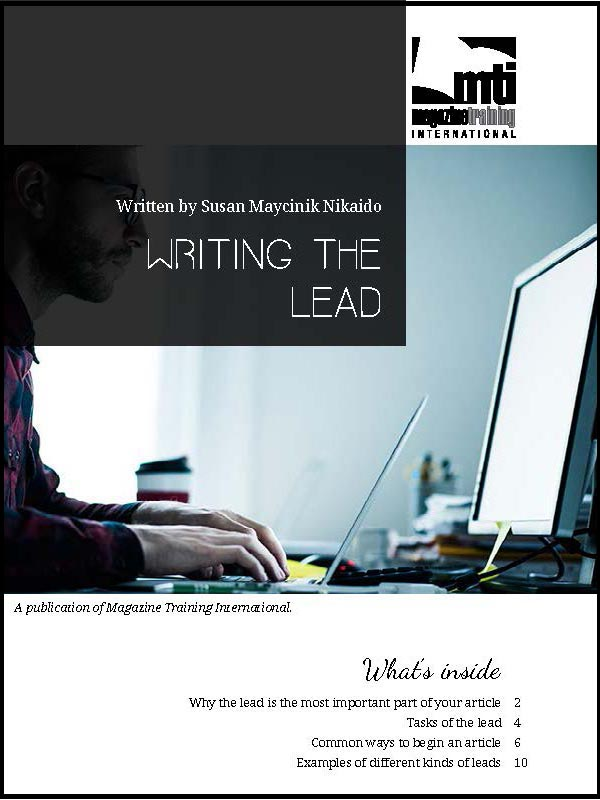 writing the lead
