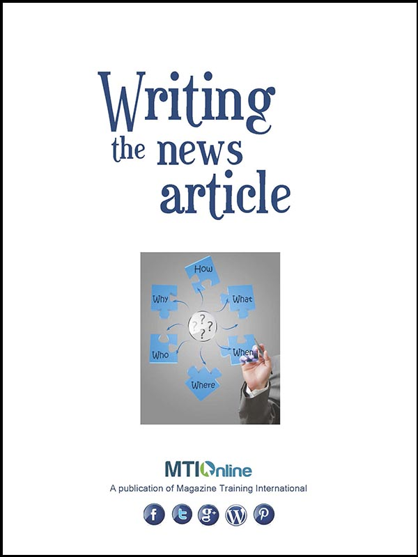 writing the news article