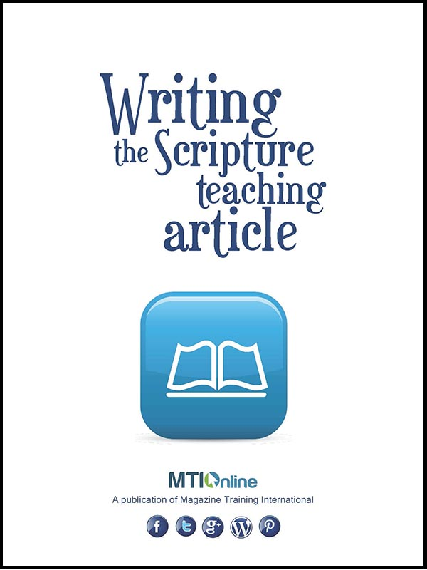 writing the scripture teaching article