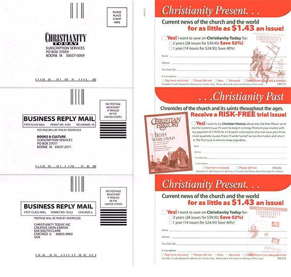 multiple-magazine bind-in cards
