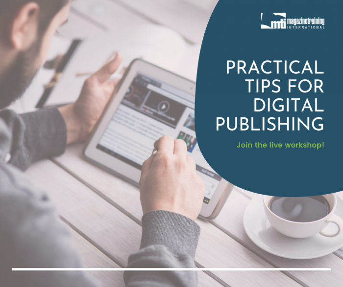 tips for digital publishing