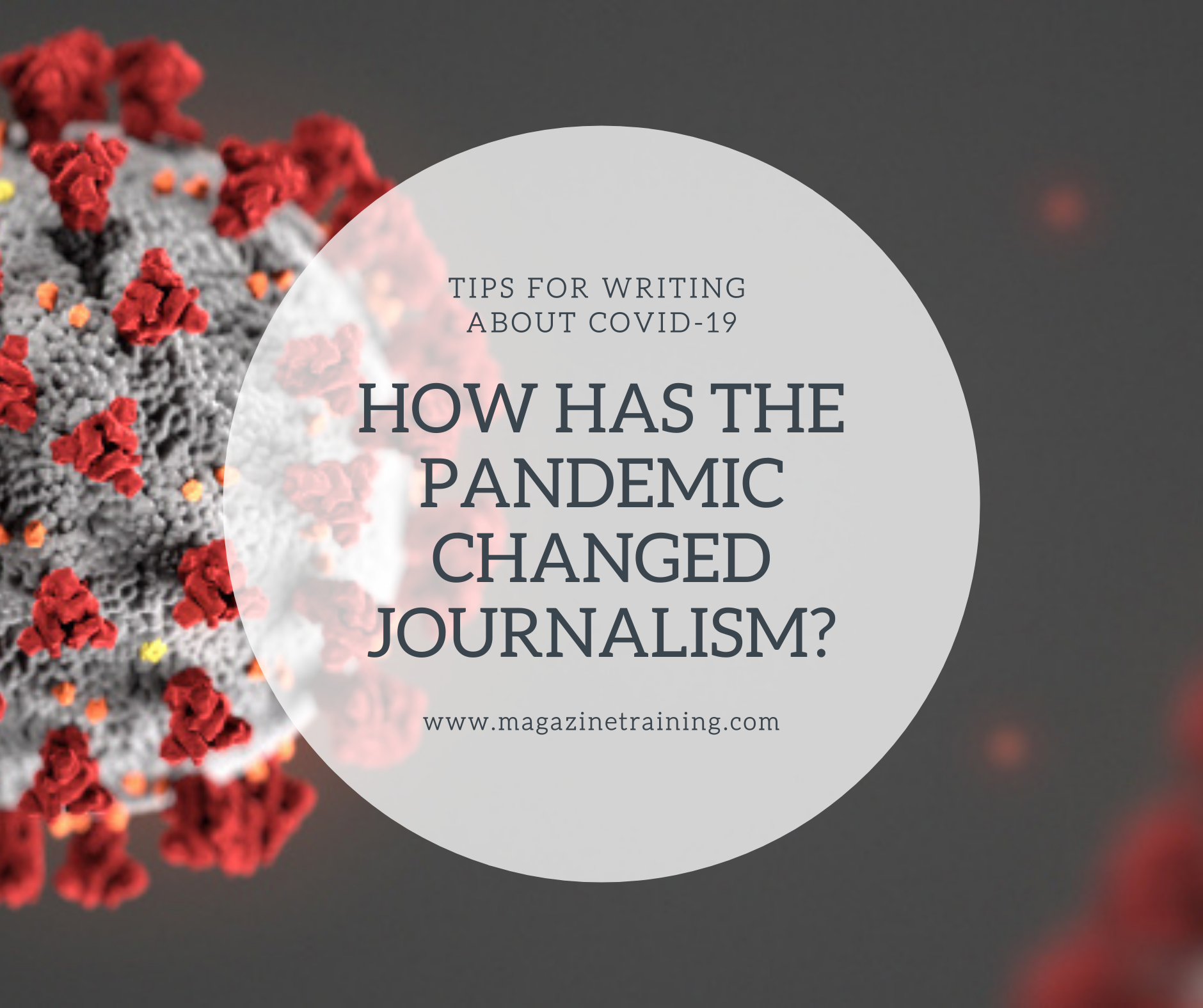 pandemic changed journalism