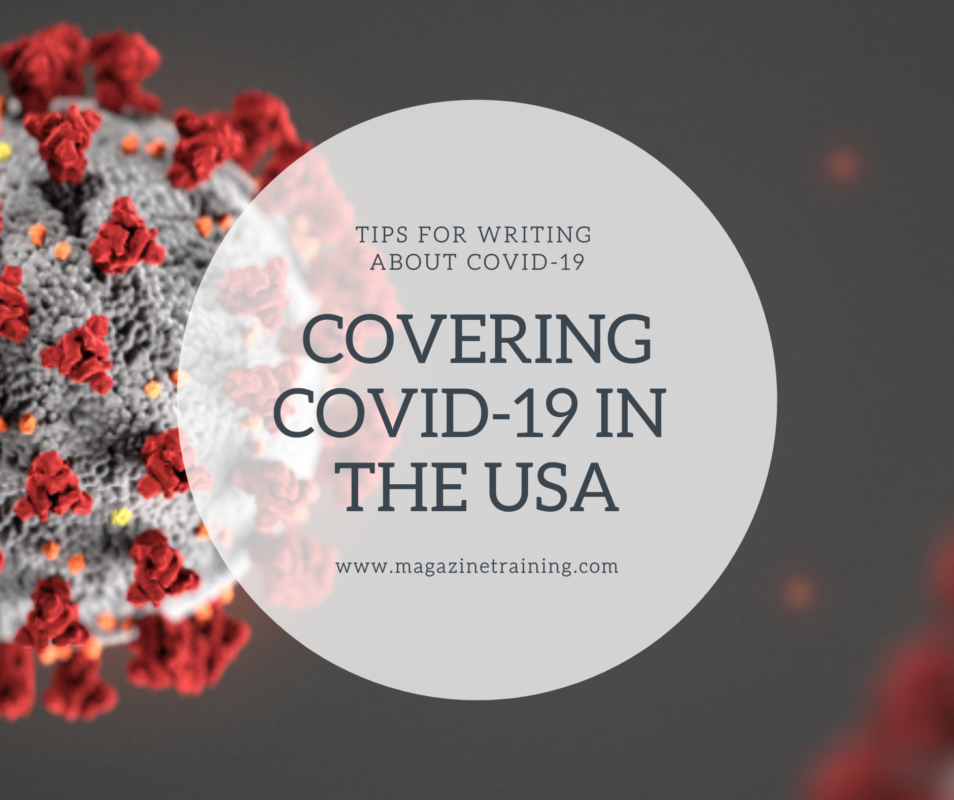 covering COVID-19 in the USA