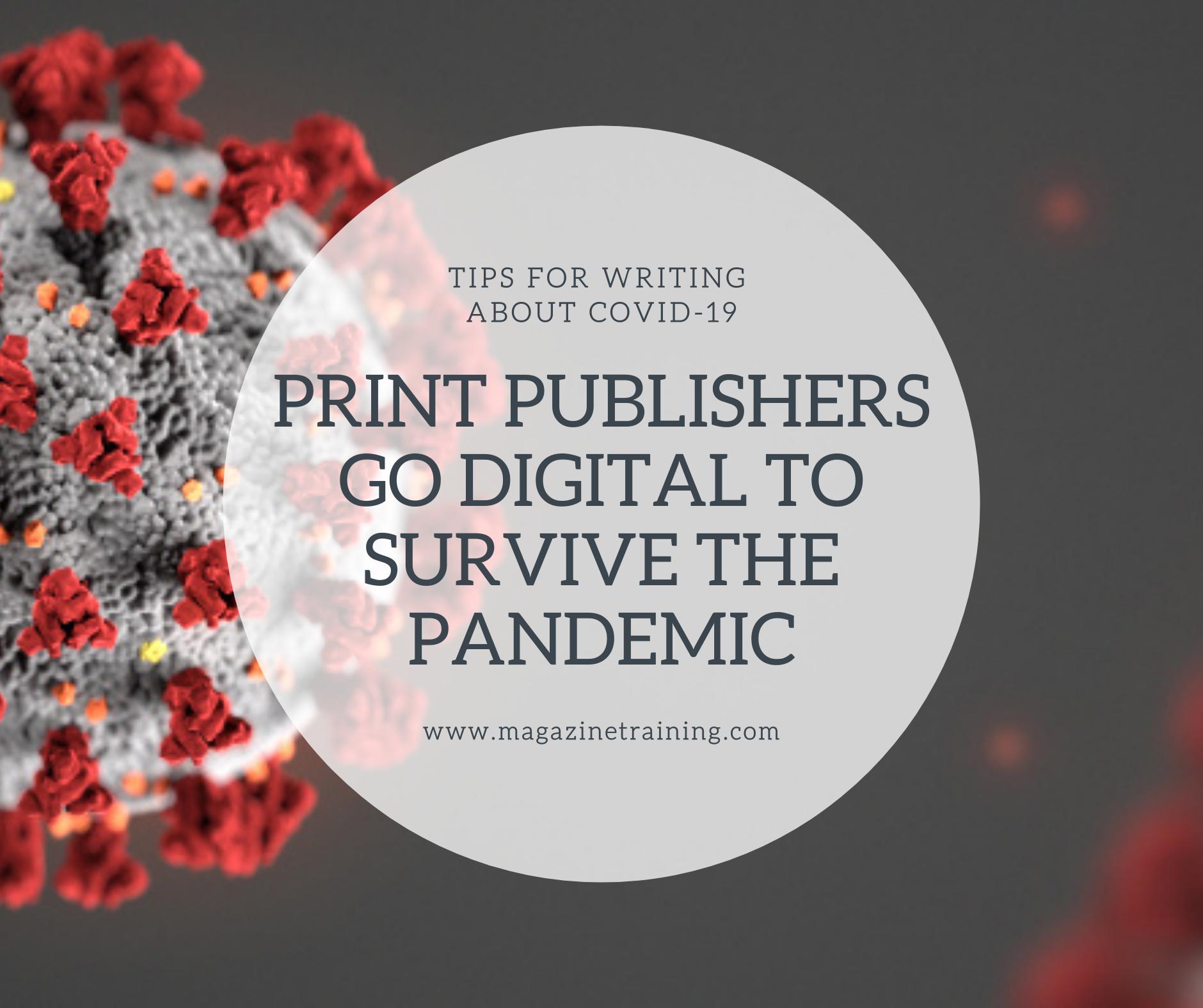 print publishers go digital
