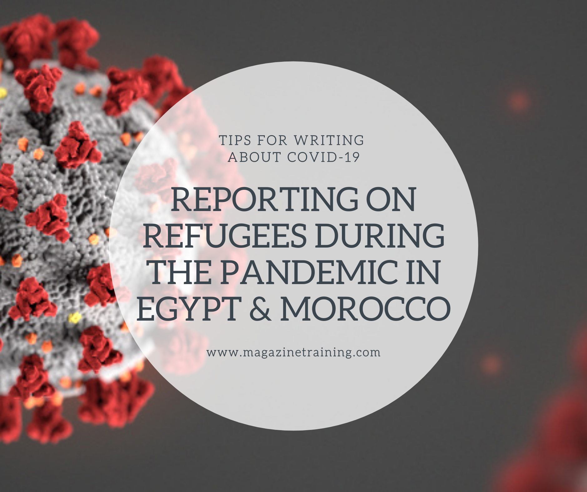 reporting on refugees