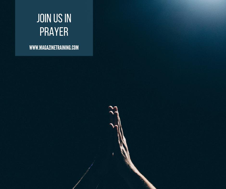 join us in prayer