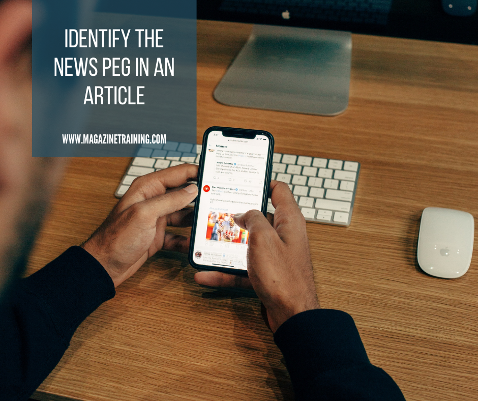 news peg