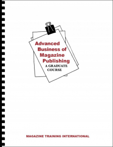 business of magazine publishing